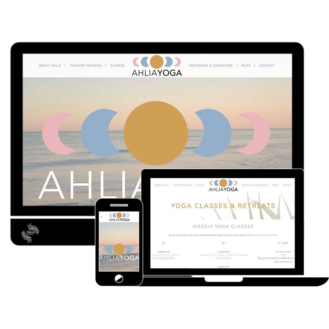 Online Yoga Academy In 2020 Online Yoga Yoga Web Digital Marketing