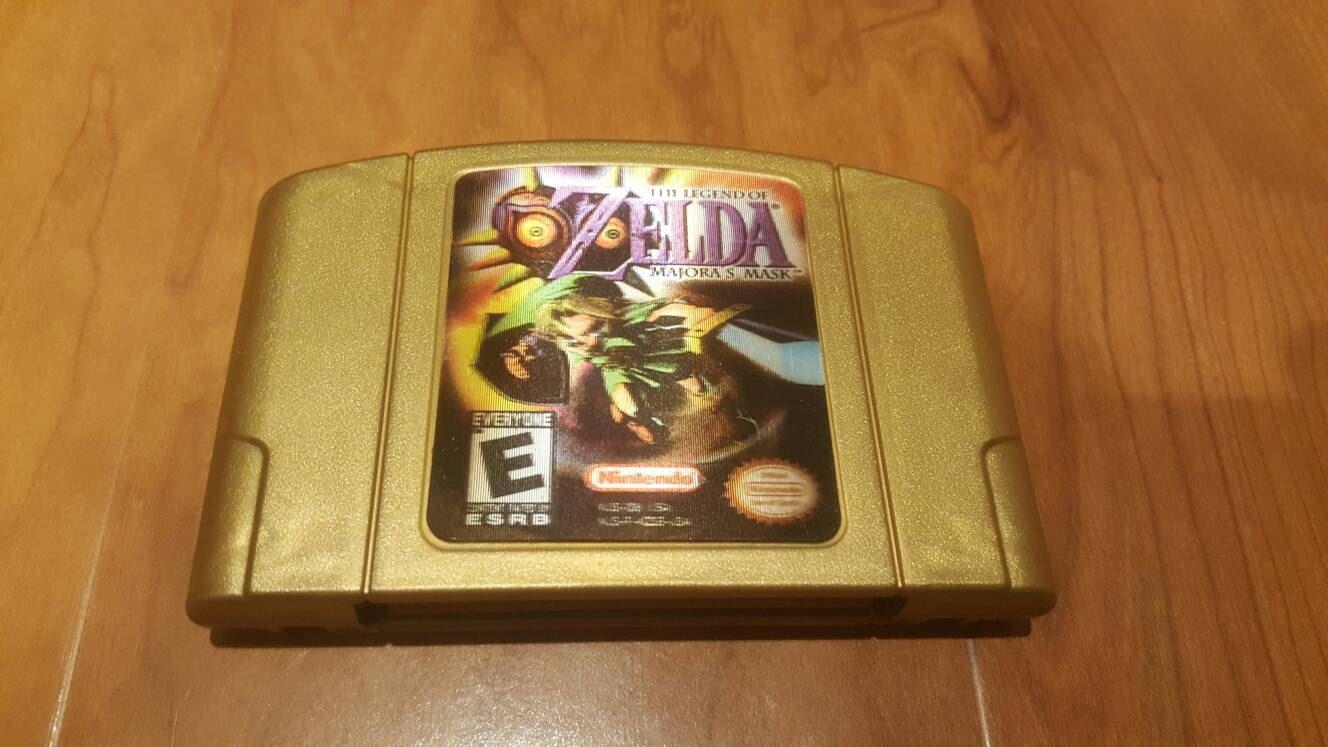 Legend Of Zelda Majora S Mask Collectors Edition Nintendo 64 Game Majora S Mask N64 Legend Of Zelda N64 Major Majoras Mask Nintendo 64 Games Legend Of Zelda