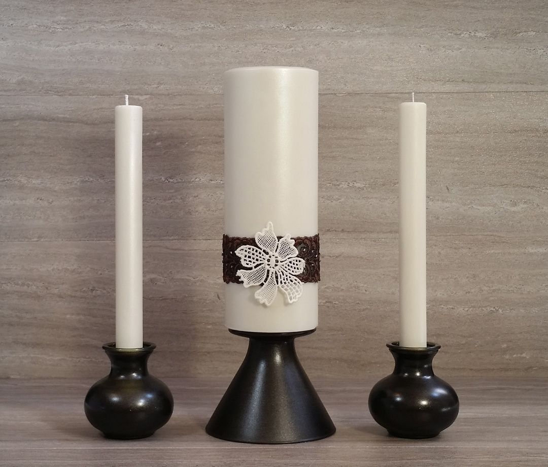 Hochzeitstischdeko Amazon Modern Bronze Unity Package Wedding Unity Candles Wedding