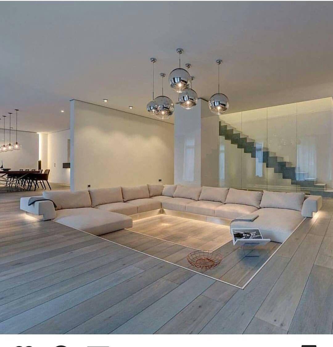 design e funzionalità, creando nuove tendenze nell'architettura degli interni. Pin By Fabiano Marini On Fabiano Marini Sunken Living Room Dream House Interior Modern Minimalist Living Room