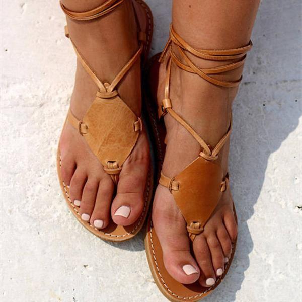 0407530c71ee Women Hippie Chic Sandals Holiday Sandals