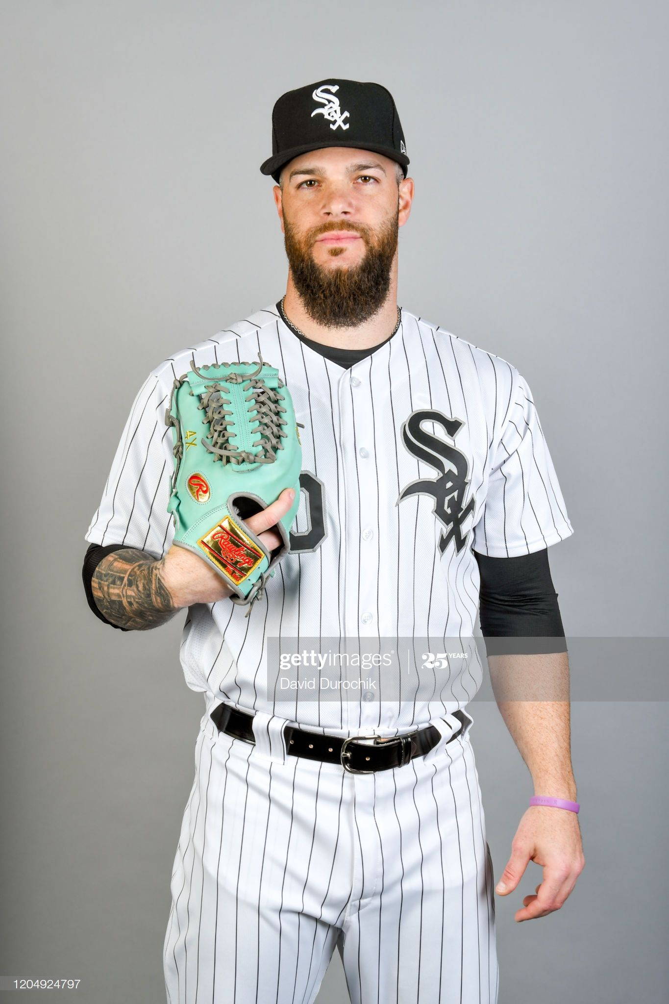 Dallas Keuchel Of The Chicago White Sox Poses During Photo Day On In 2020 Chicago White Sox White Sock Dallas Keuchel
