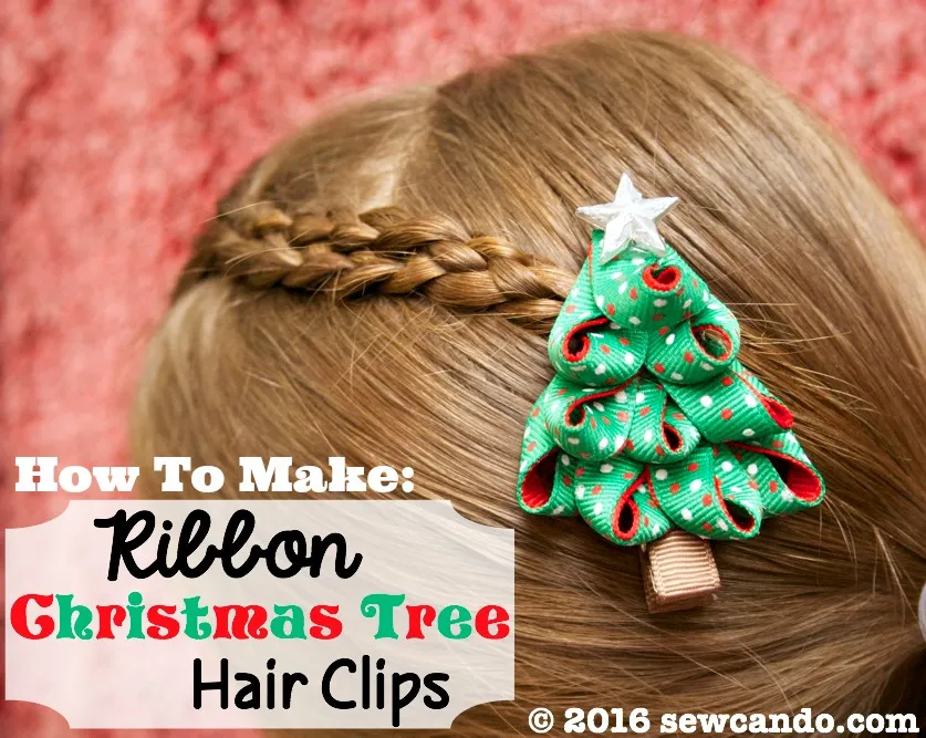 Christmas Tree Ribbons Christmas Party Hairstyles Christmas Hair Hair Styles