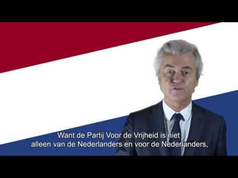 Videoboodschap Geert Wilders over de gemeenteraadsverkiezingen 2018