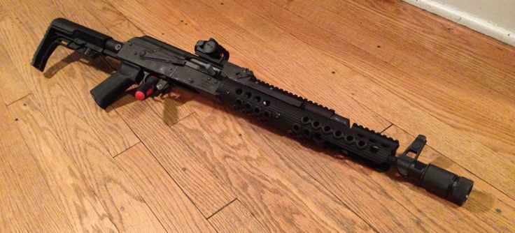 via (10) AK47, Troy Industries, Ultimak, Magpul AK grip, Primary
