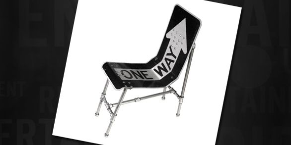Road Sign Furniture | Ripley's Believe It or Not!