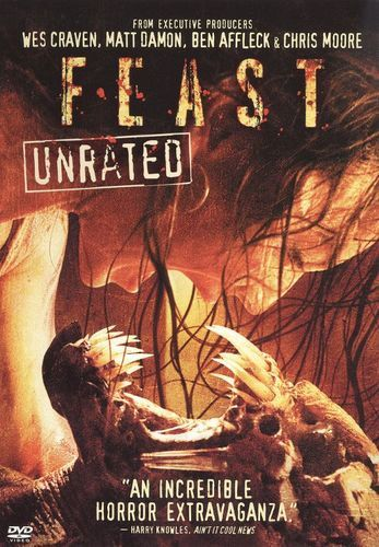 Feast [DVD] [2006] | Products | Best horror movies list, Best horror