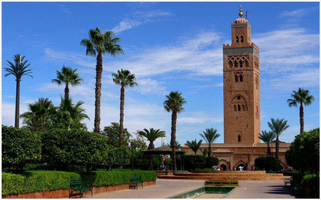 koutoubia mosque wallpaper koutoubia mosque wallpaper 1080p