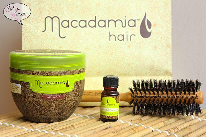 ماسك وزيت للشعر من ماكاديميا Macadamia Hair Products How To Make Cooking