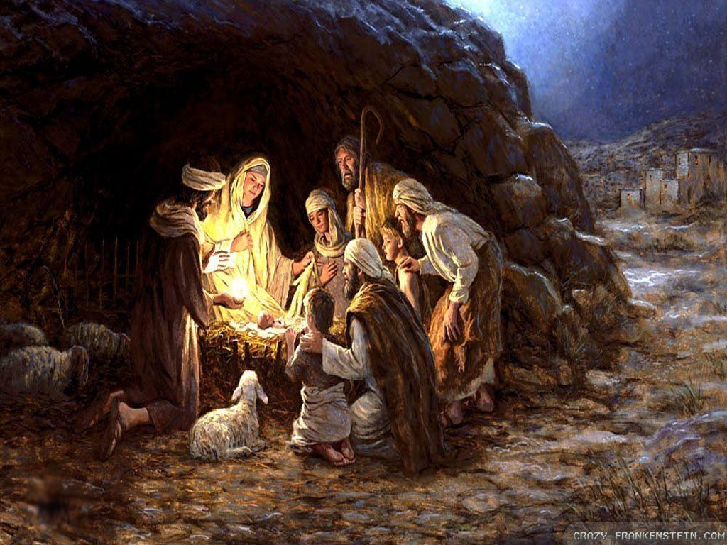 Xmas Stuff For Christmas Jesus Birth Wallpaper Christmas