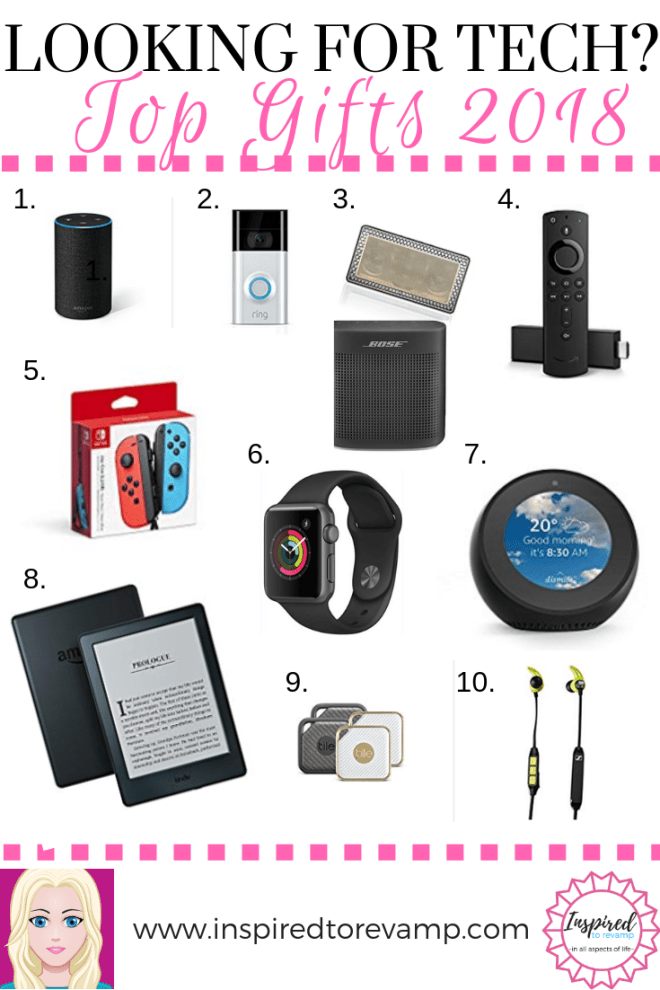 Looking For The Perfect Electronics Gift Idea Here Are The Top 10 Tech Gifts Of 2018 In Th Electronic Gift Ideas Electronic Christmas Gifts Electronic Gifts