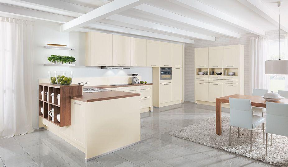 offene Küche beige Offene Küchen Pinterest Küche beige - offene k che planen