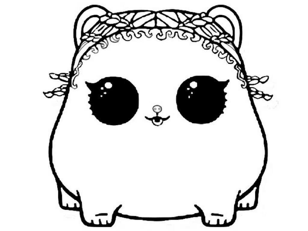 Lol Surprise Coloring Pages Pets Dibujos Colorear Ninos Chibi Kawaii Dibujos Chibi