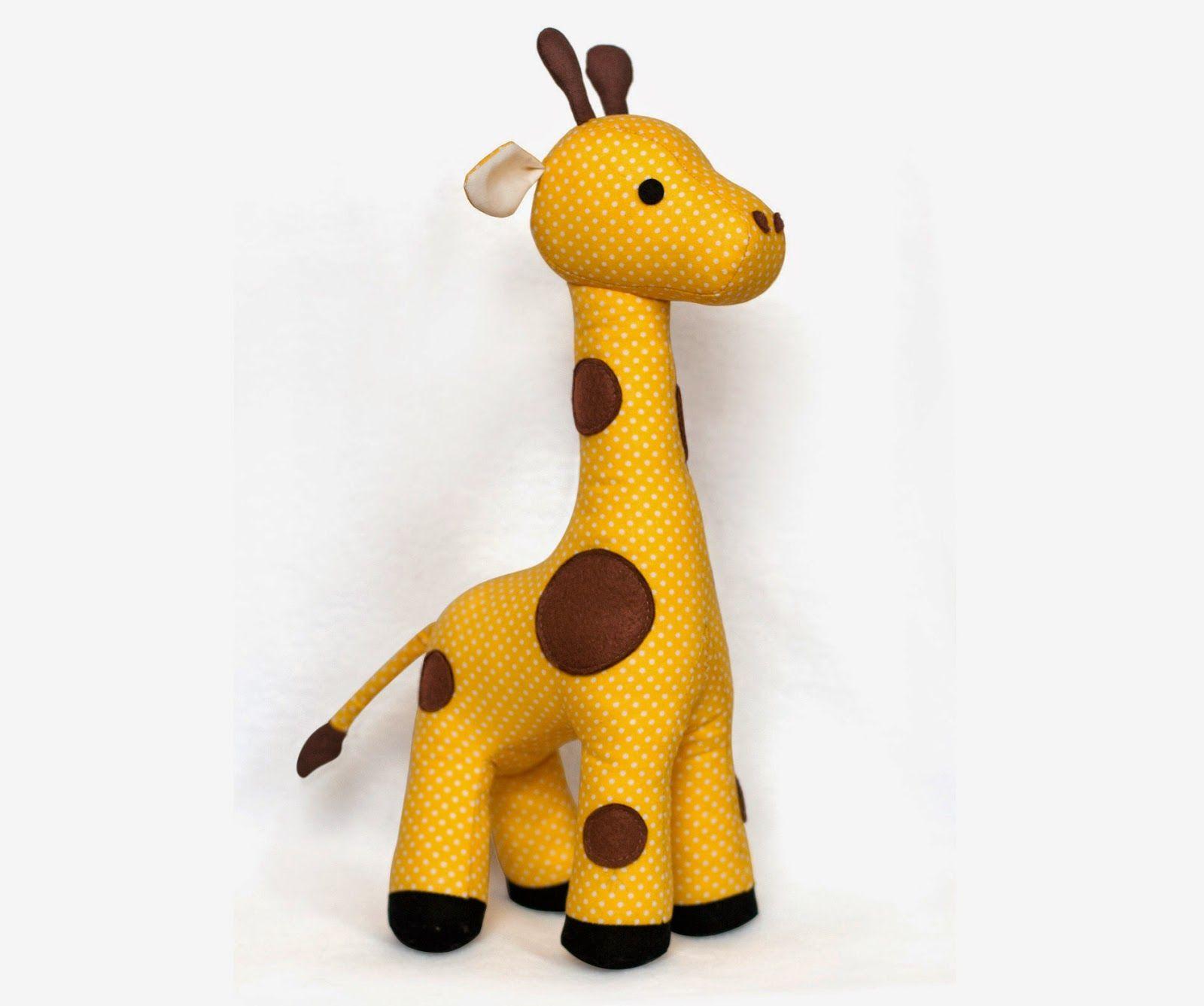 giraffe plush toy | Giraffe | Pinterest | Babysachen und Nähen