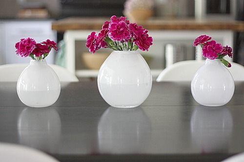 Pretty White Vases Ideas For Aubreys Wedding Pinterest White