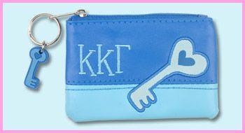 Kappa Kappa Gamma Sorority ID Coin Purse $9.95