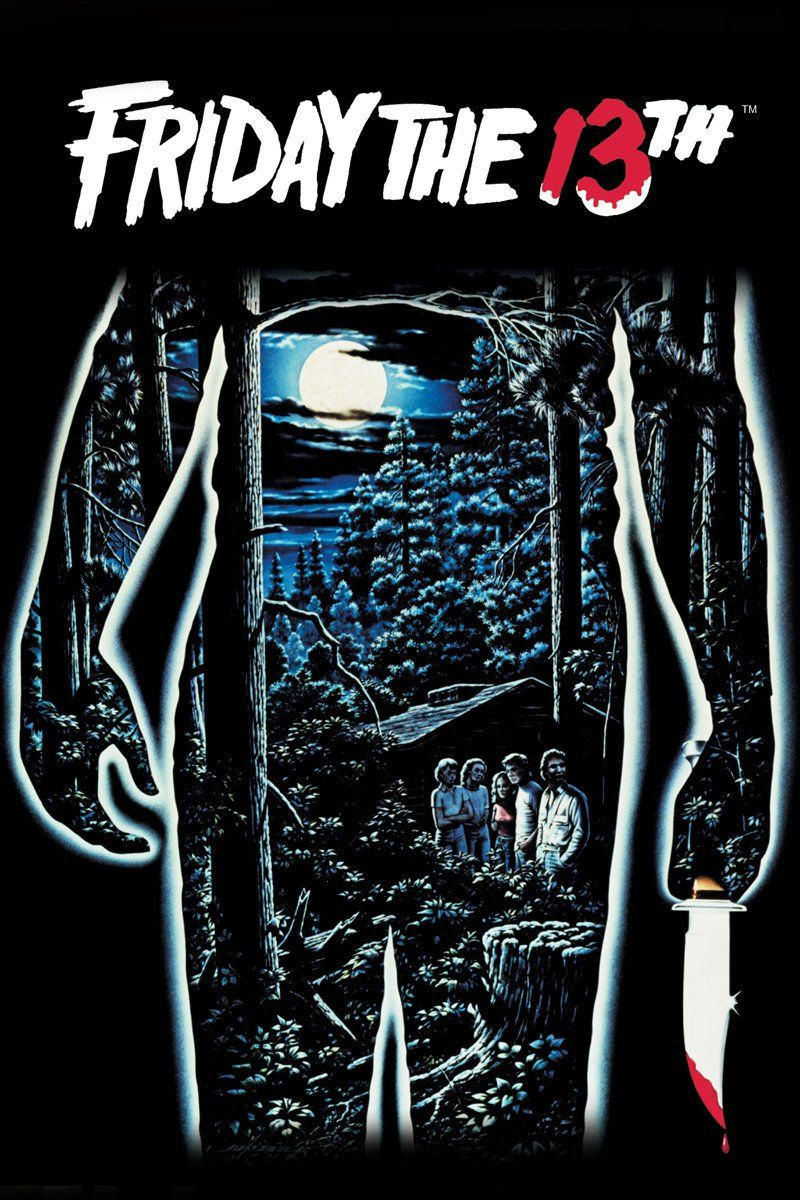 friday the 13th movie poster 1980