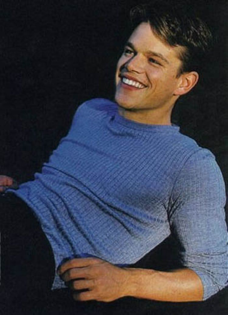 20 Pictures of Young Matt Damon