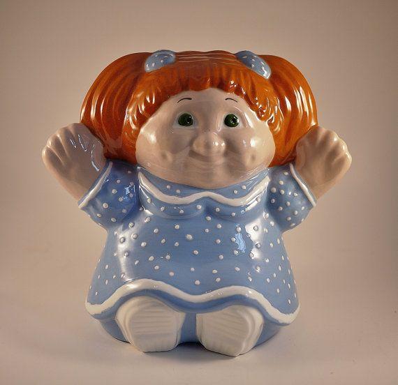 Vintage Ceramic Cabbage Patch Kid Figurine Etsy Vintage Ceramic Cabbage Patch Kids Cabbage Patch