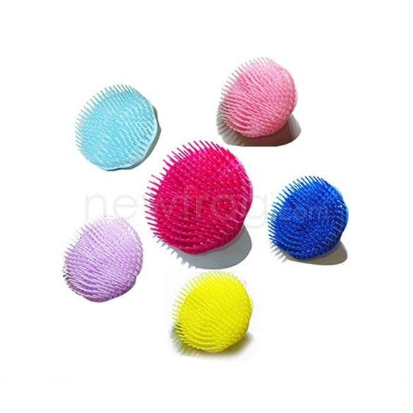 Dog Hair Brush Comb Body Shampoo Scalp Massager