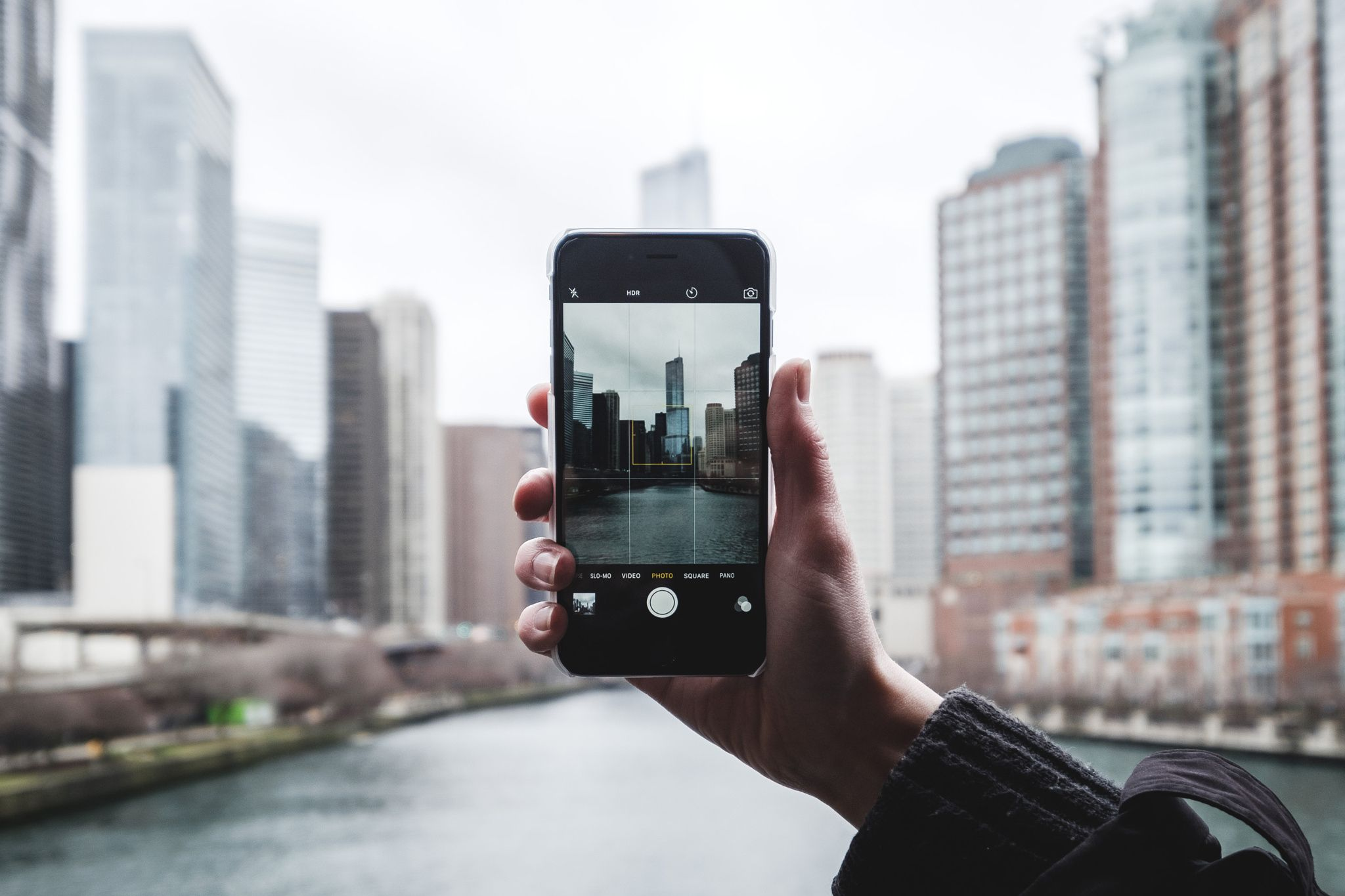 Perfectly Framed Chicago - Framing Chicago with Trump Tower with an ...