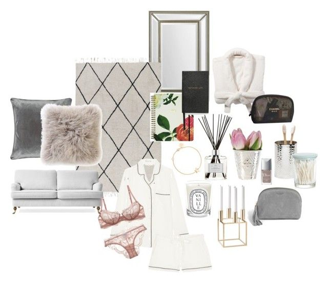 """""""Untitled #34"""" by lagerqvist-amanda ❤ liked on Polyvore featuring interior, interiors, interior design, home, home decor, interior decorating, Renwil, Ellos, Equipment and Pigeon & Poodle"""