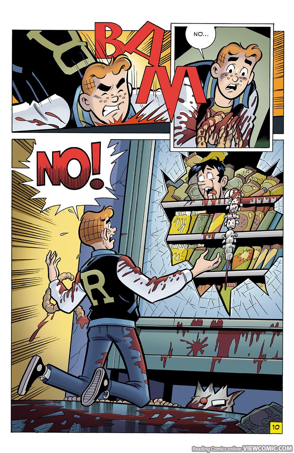Archie comics archie comics sneak peek of the week major spoilers - Archie Comics May 2016 Archie Vs Predator 03 Of 04 2015