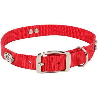 "Georgia Bulldogs 20"" Nylon Dog Collar - Red"