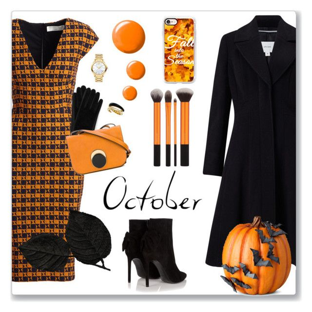 """Fall into the Season"" by kimzarad1 ❤ liked on Polyvore featuring Victoria Beckham, John Lewis, Improvements, Ted Baker, Topshop, Marni, Yves Saint Laurent, Movado, Michael Kors and Casetify"