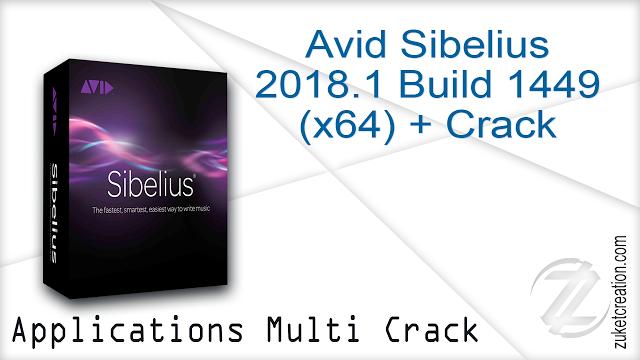 Avid Sibelius 2018 1 Build 1449 (x64) + Crack - | ,k | Building