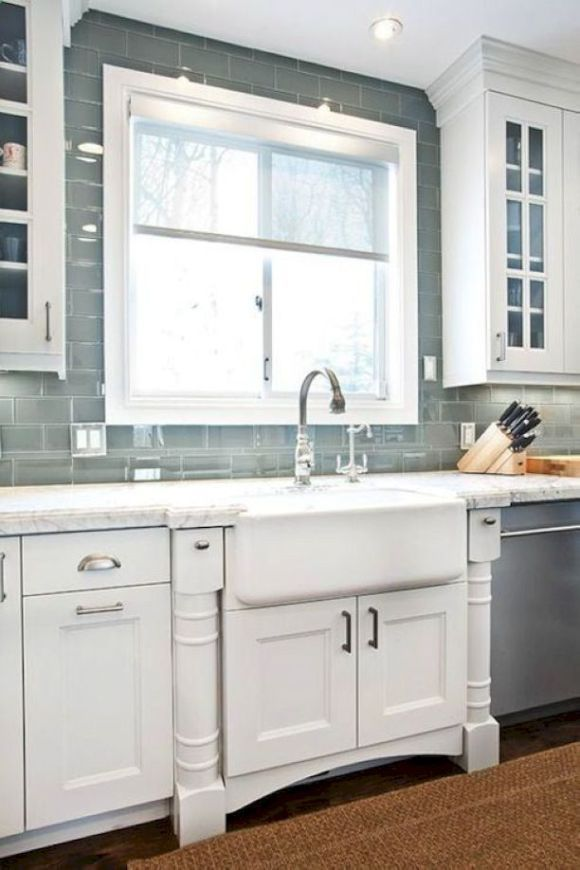 Gorgeous Kitchen Backsplash Ideas 19
