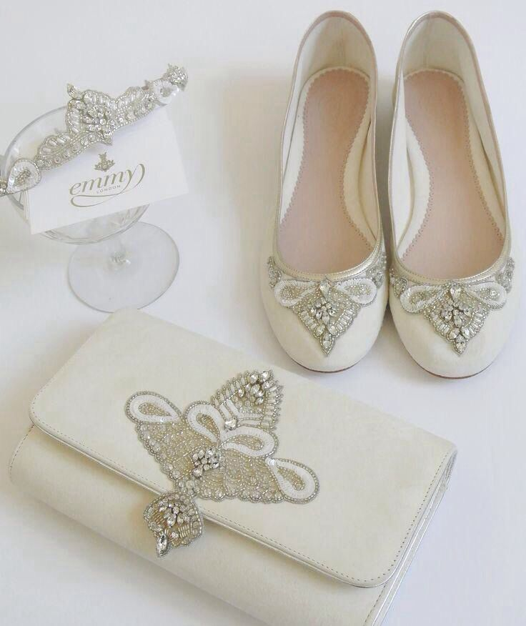 Bride to Be check out @EmmyShoes Carrie shoes with the Aurelia ...