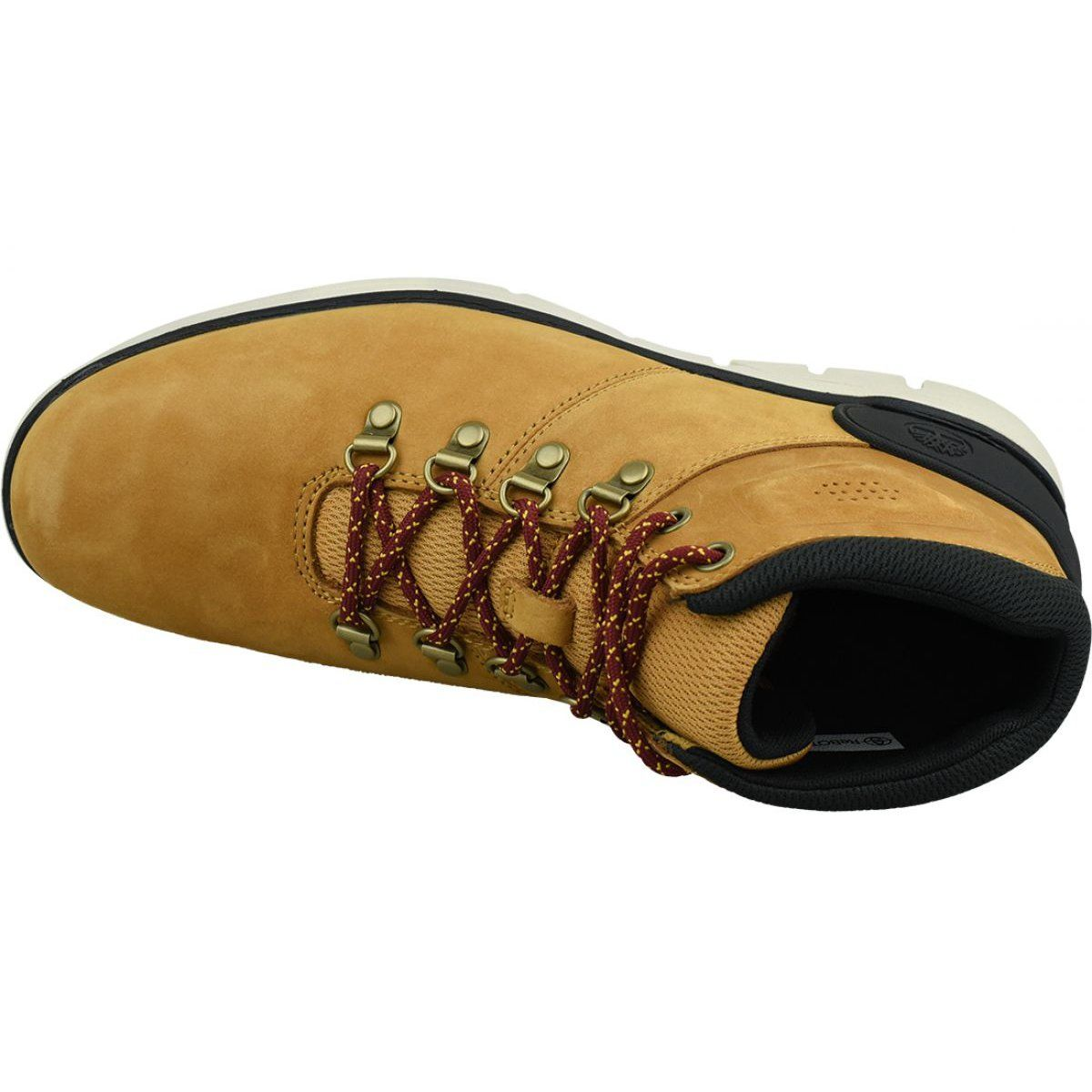 Timberland Bradstreet Hiker M A26yz Shoes Orange Timberlands Shoes Shoes Boots