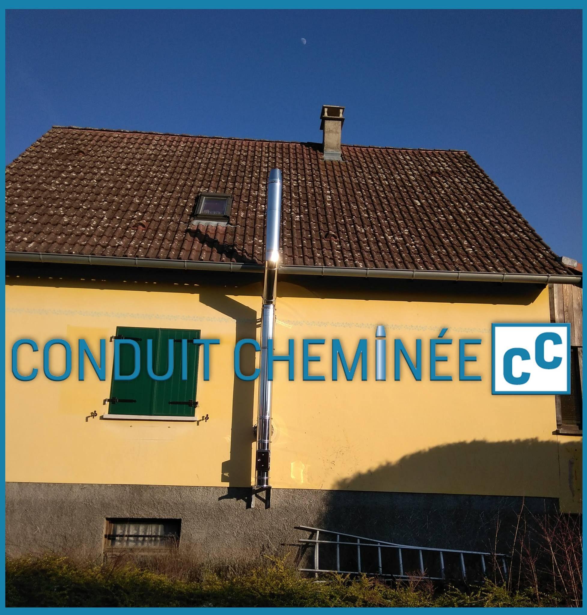 Photo Conduit De Cheminée Exterieur