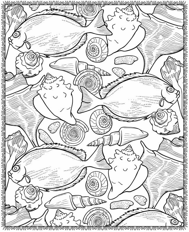 Sea Life Coloring Pictures to Print and Color News