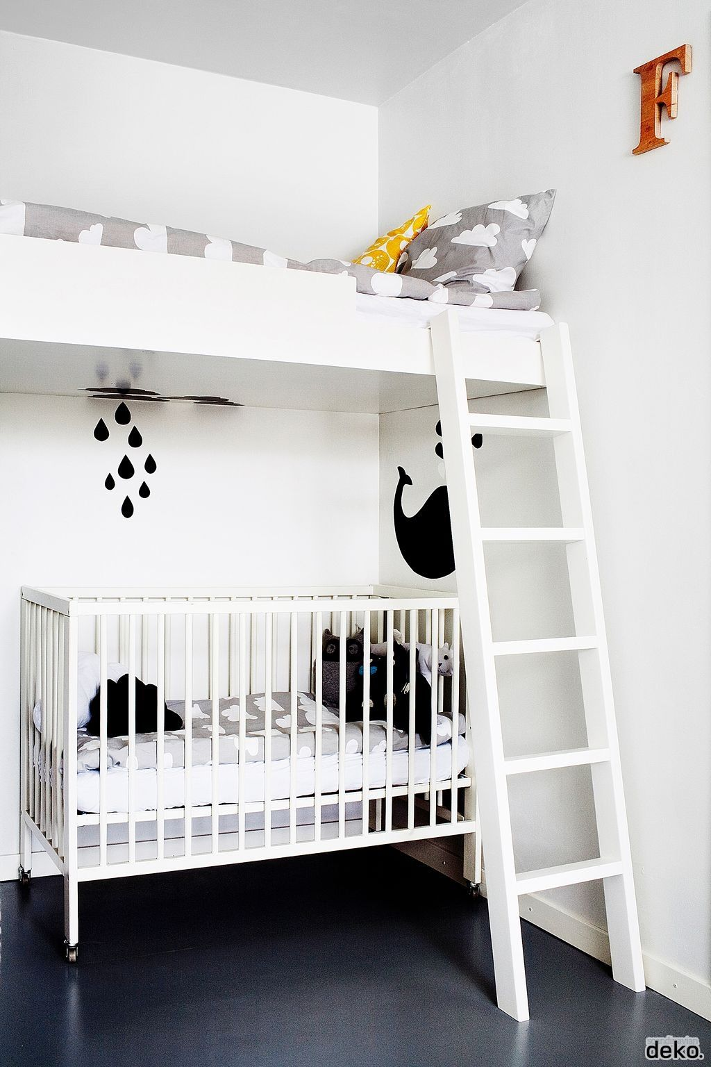 loft bed with crib underneath! this is what we have to do! | room ...