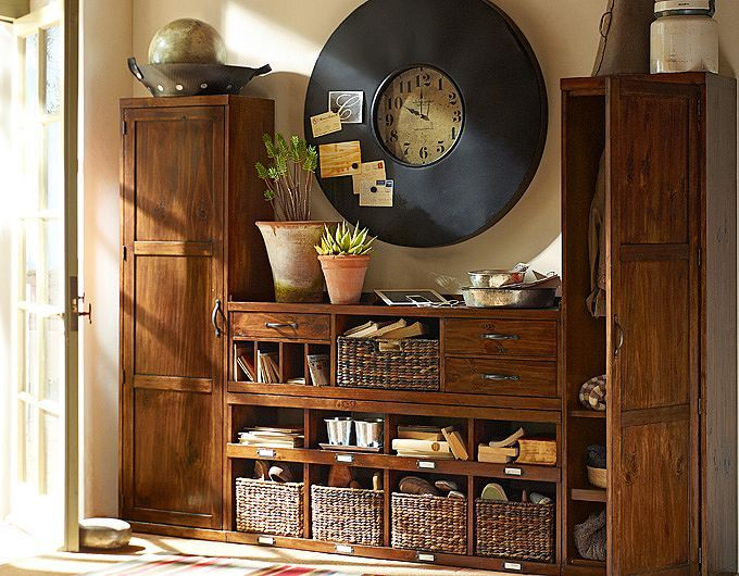 Entryway Organization Ideas Pottery Barn With Images