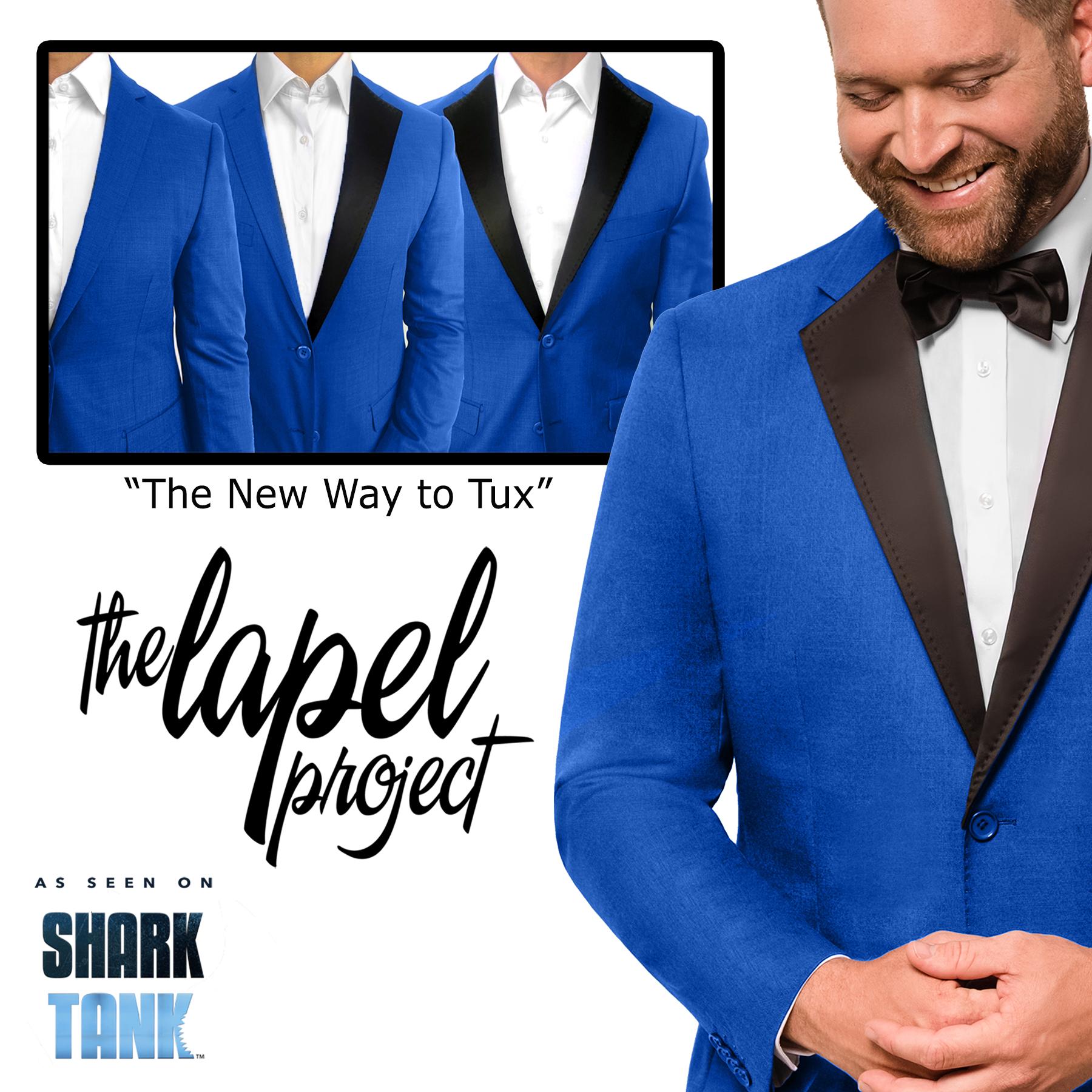 Transform your favorite suit or jacket in secs!   www