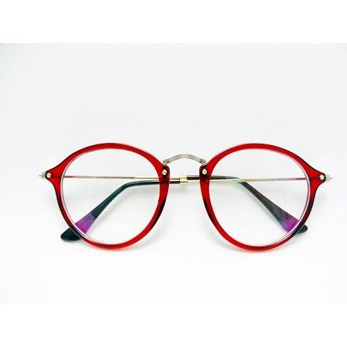 oculos redondo vermelho para grau - aqui na oculos-club   Óculos ... f7b01f11e5