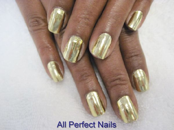 i think gold looks AMAZING on darker skin!