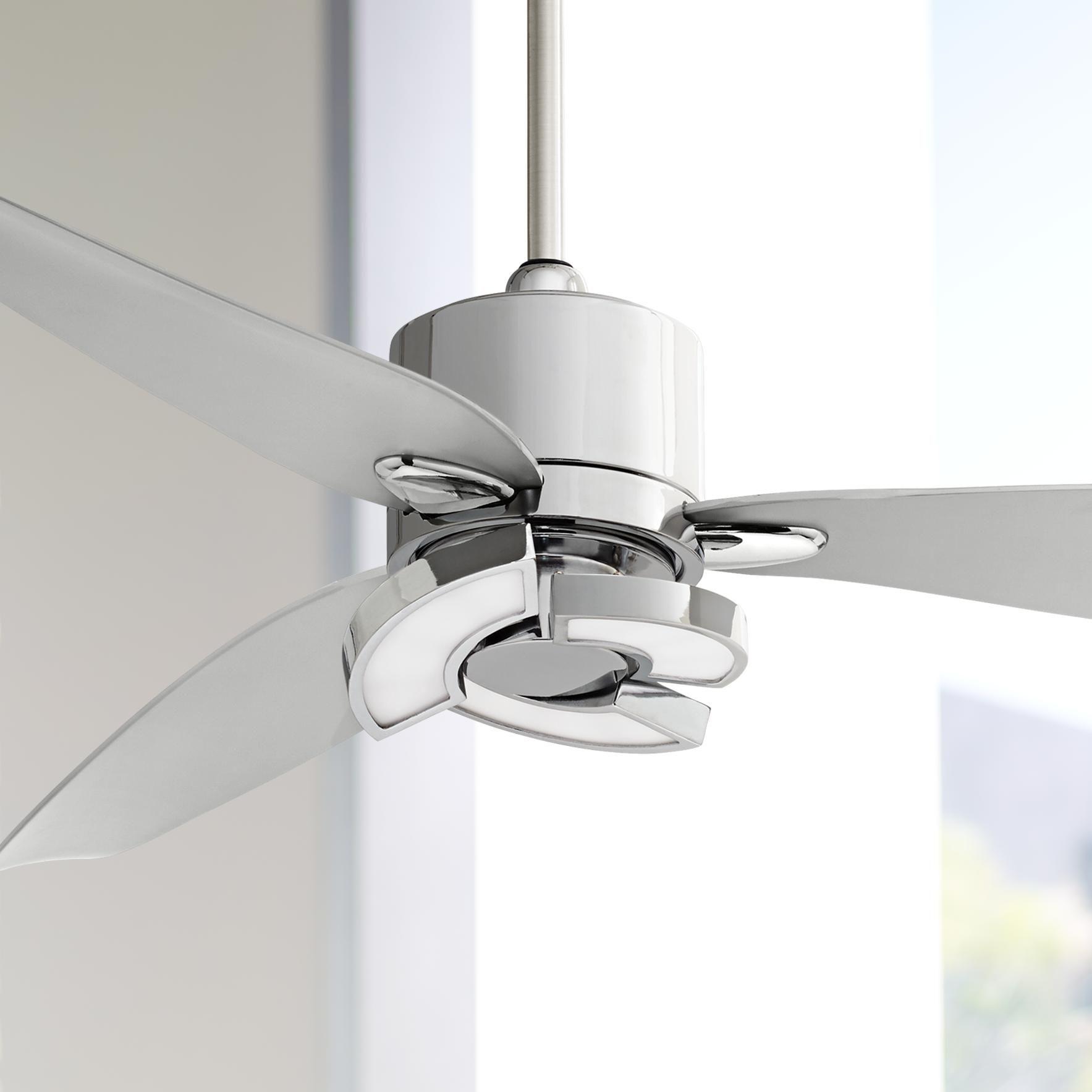 """57"""" Vengeance™ LED Chrome Ceiling Fan"""
