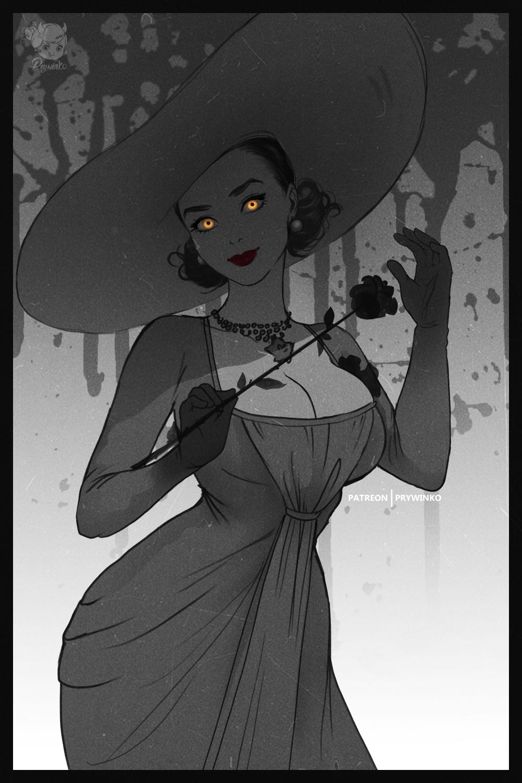 Tall Vampire Lady Resident Evil Village By Prywinko On Deviantart In 2021 Resident Evil Girl Resident Evil Resident Evil Game