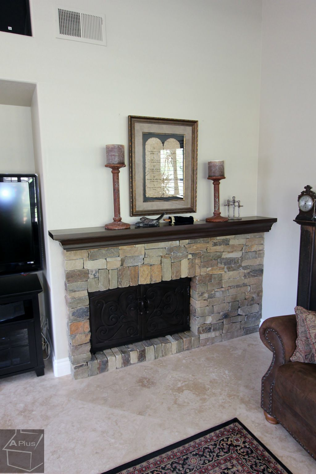 Fireplace Remodel Design Build Traditional Kitchenremodel With