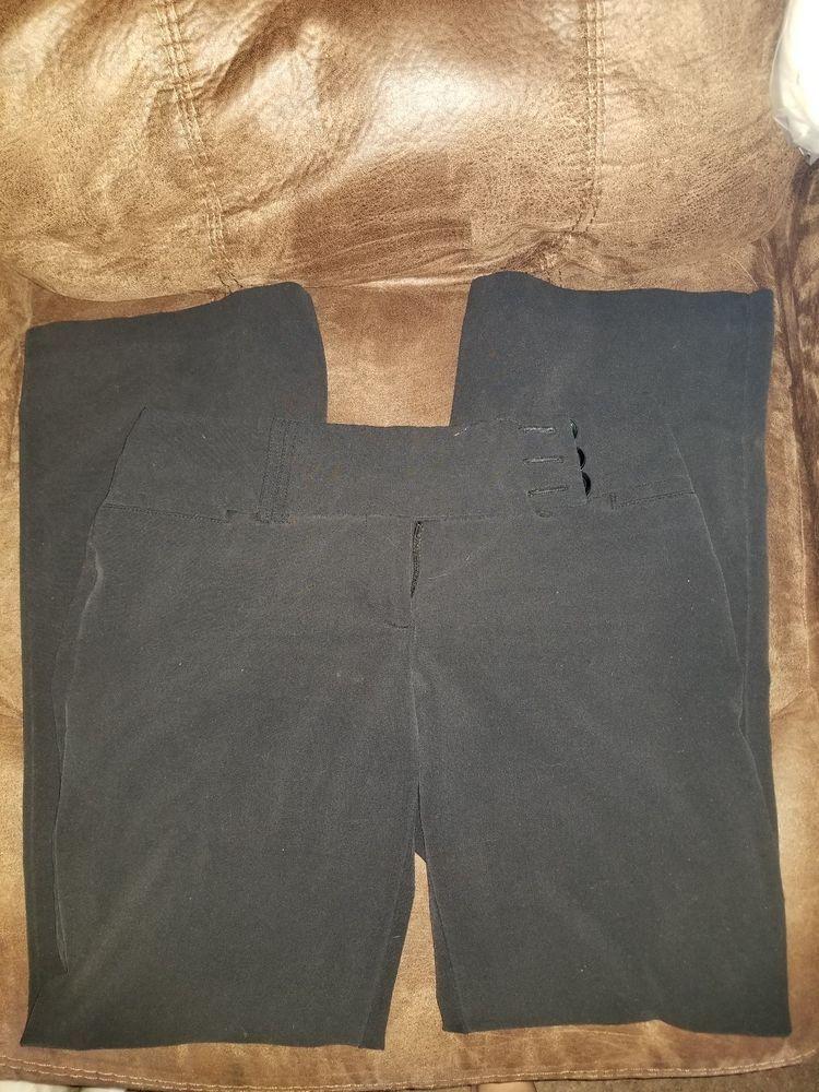 Juniors Black Dress Pants Fashion Clothing Shoes Accessories