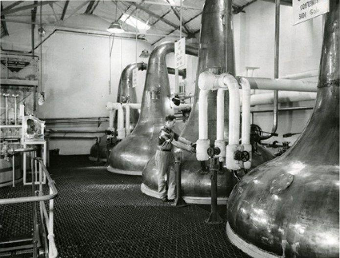 Convalmore Distillery in the 1960s Photo Credit: Diageo