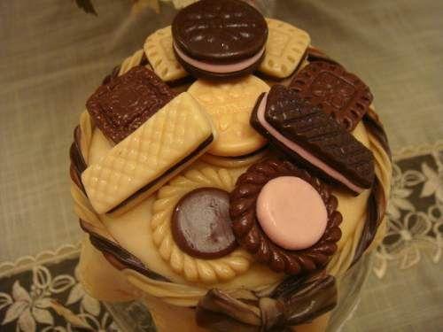 Pote para Biscoito com Biscuit