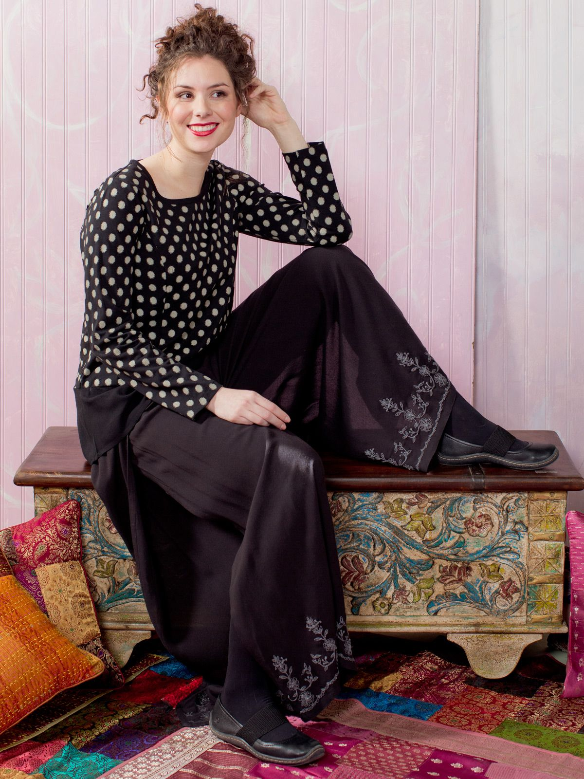 Gala Ladies Pant | Ladies, Skirts & Pants:Beautiful Designs by April Cornell