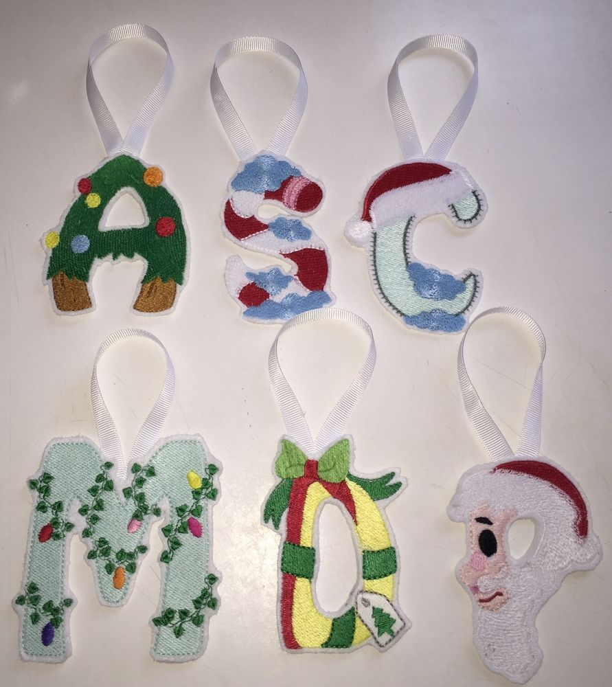 Christmas Initial Decorations | eBay
