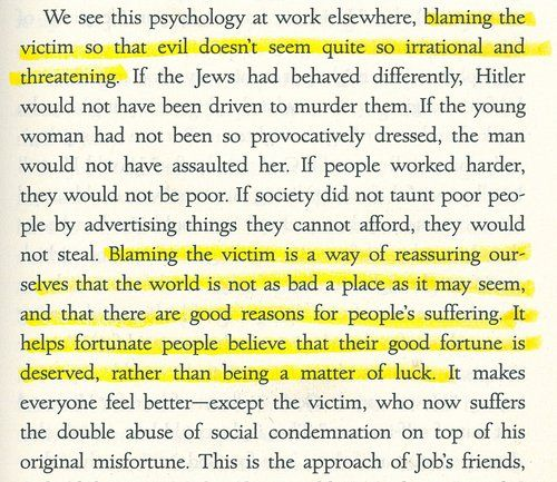 Highlighted Passage When Bad Things Happen To Good People Story
