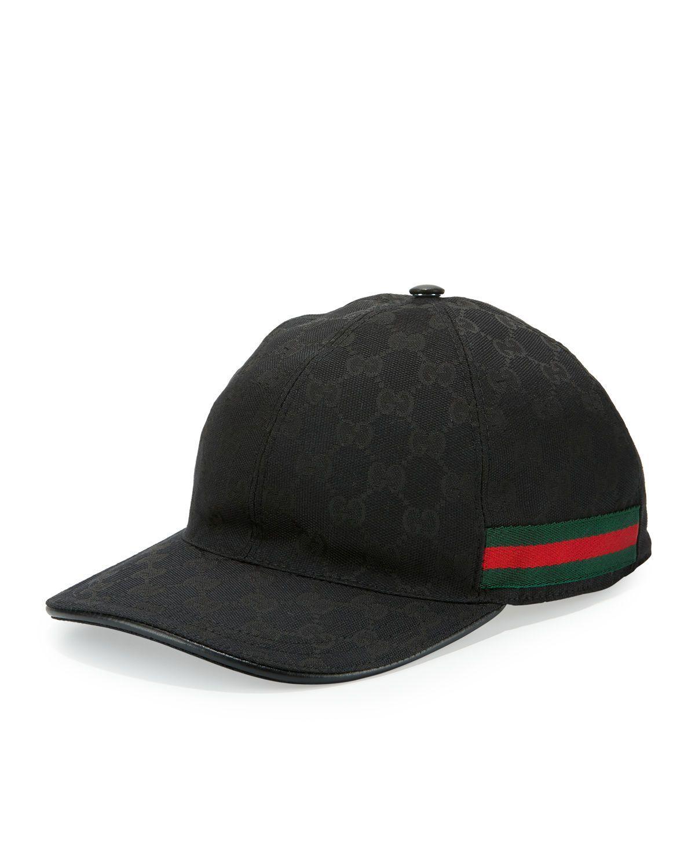 Men s GG Canvas Baseball Hat  cbce00697d7